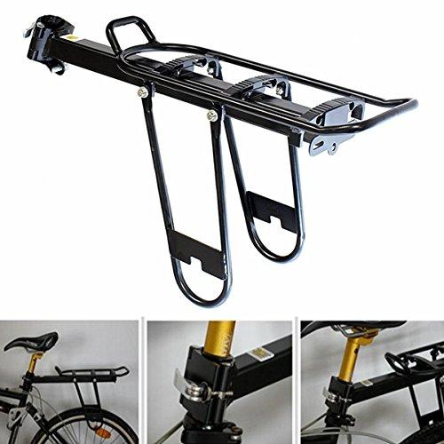 Bici della bicicletta sgancio rapido posteriore Rack Sedile Deposito Messaggio Pannier Carrier - Lega Posteriore Rack