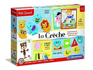 Clementoni 52322 Juego Educativo - Juegos educativos, Preescolar, Niño/niña, 1 año(s), 3 año(s), 451 mm
