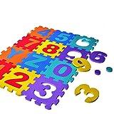 Malloom® 36pcs Bambini Puzzle pavimento di alfabeto digitale Schiuma Didattica di matematica Giocattolo immagine
