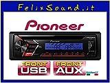 Pioneer DEH-S100UBB Nero autoradio