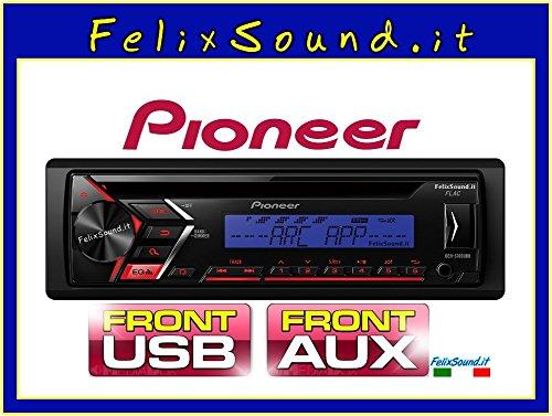 Pioneer DEH-S100UBB Autorradio, Azul