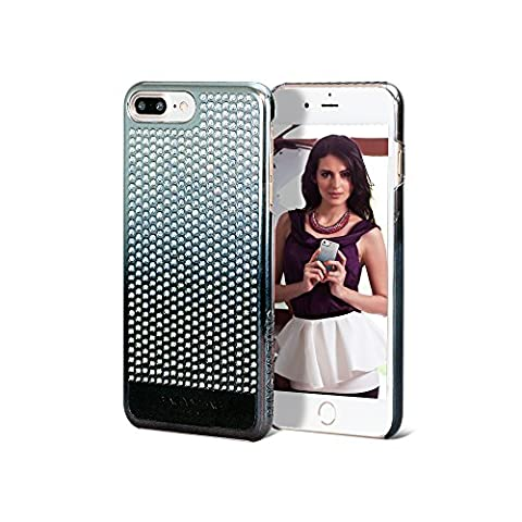 Bling My Thing IP7 Ink VG BKG CLP Brilliant Series Luxury and Unique Design Decorated with GENUINE Swarovski Crystals – Fashionable Phone Case For Apple iPhone 7 Plus Paradise