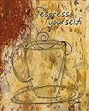 Feelingathome-Leinwand-Bild-espresso-sich-cm48x38-Kunstdruck-auf-Leinwand