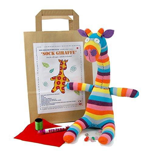 Sock Giraffe Craft Kit (Sock Monkey Handwerk)