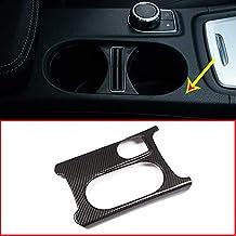 Cubierta para portavasos de carbono ABS cromado para Benz A/GLA/CLA Clase C117