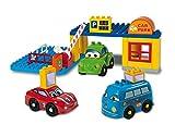 Androni Giocattoli 8569-0CAR - Secchio con Costruzioni Parcheggio e 3 Auto