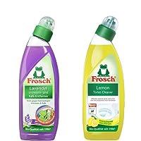 Frosch Combo of Lemon Toilet Bowl Cleaner - 750Ml & Lavender Toilet Bowl Cleaner
