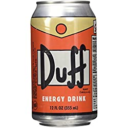 Duff Can The Simpsons Energy Drink