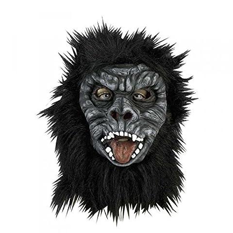 Gorillaperücke Gorillamaske Affenmaske