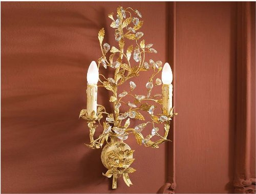 SCHULLER | Apliques florentinos : Colección VERDI 2L ORO | Decoracion Hogar Beltran
