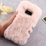 HTC U11Plus Art Case, Handmade Fluffy Villi Wool Cute Ball