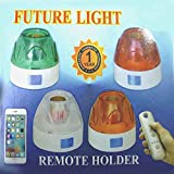 #7: Wireless Remote Control Light Bulb Holder Socket (Assorted colour)