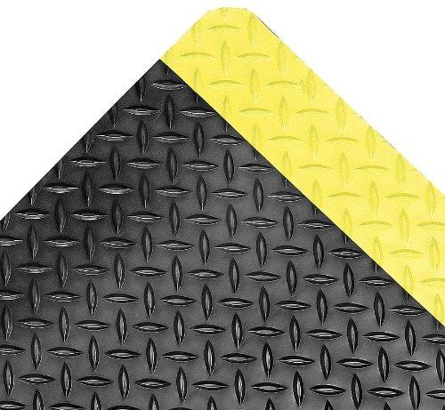 Easimat Bodenmatten Langlebig Matte, schwarz, yllwbrdr, 3m x5ft. -