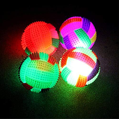 l mit blinkendem Licht und Farbwechsel, Igelball für Kinder 7.5cm in Diameter ()