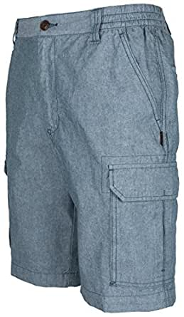 Herren Cargo Shorts Bermudas von SOUNON® - Anthrazit, Groesse: M
