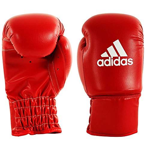 adidas Kinder Kunstleder Boxhandschuhe, Rot, 4 oz