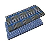 #5: Kitex Mens Kaily Lungi Pack Of 2 (Colour and print are assorted)