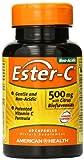 Ester C 500mg w/Citrus Bioflavanoids 60 Capsules by American Health