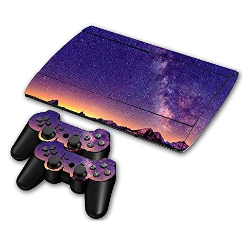 Preisvergleich Produktbild Linyuan Protection Skin Sticker Cover fur Playstation 3 PS3 Super Slim CECH-4000