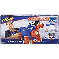Nerf - Lanzador Elite Hyper-Fire (Hasbro B5573EU4)