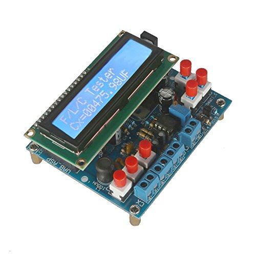 KKmoon LCD Digital Secohmmeter Tester di Capacità di Fai da Te Kit Misuratore di Frequenza di Induttanza del Tester