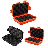 Generic S, Orange: Outdoor stoßfest wasserdicht luftdicht Survival Storage Case Container Carry Box