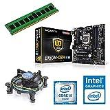 one Aufrüstkit · Intel Core i5-7400, 4 x 3.00GHz · Intel HD 530 · 8 GB DDR4 RAM · Gigabyte GA-B250M-D3H · Kabylake · Aufrüstset · Mainboard Bundle · PC Tuning Kit