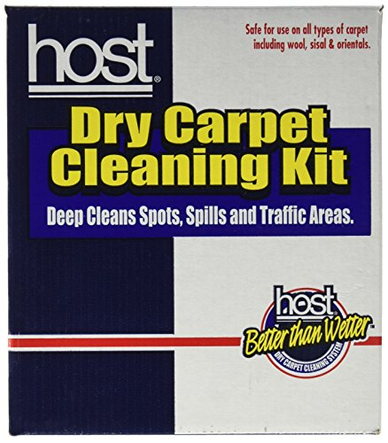 Host Dry Carpet Cleaning Kit by HOST -
