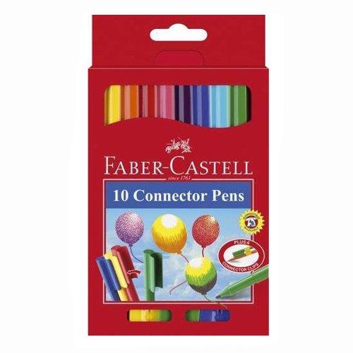 Faber-Castell Connector Pen Filzstifte, 10er [Spielzeug]
