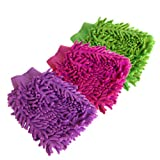 Pack of 3 Double Sided Microfiber Dust C...