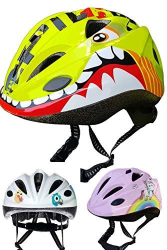 Skullcap Fahrradhelm für Kinder  von Kindern gestaltet von Profis gebaut - Kinderfahrradhelm,  Dino