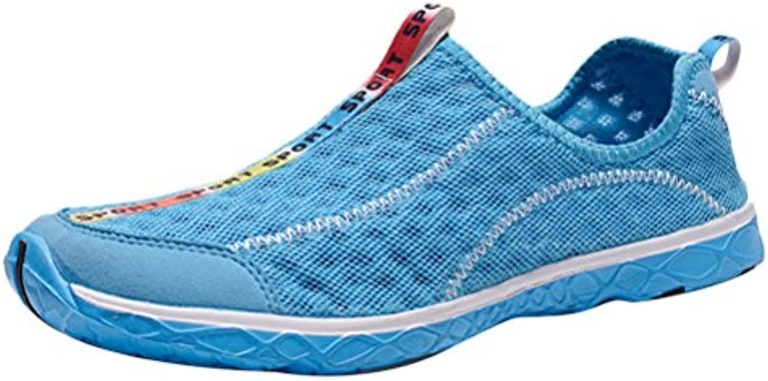 Zhuhaitf Unisex Shoes Mesh Slip On Breathable Aqua Quick Drying Shoes for Indoor Outdoor