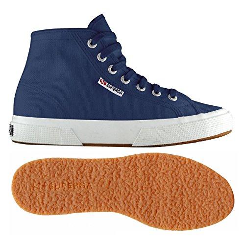 Chaussures Le Superga - 2795-cotu Blue mid