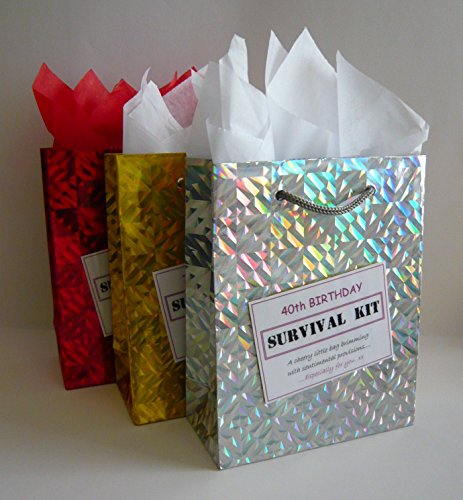 40th Birthday Survival Kit. For Female. Fun Gift Idea. Novelty Present. For Her.