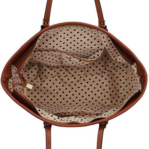 Trendstar Frau Entwerfer Handtaschen Damen Berühmtheit Stil Neu Imitat Leder Für Leinentrage Taschen Braun