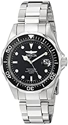 Invicta 8932 Pro Diver Unisex Wrist Watch Stainless Steel Quartz Black Dial