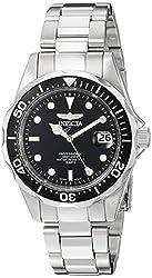 Invicta 8932 Pro Diver Unisex Wrist Watch Stainless Steel Quartz Black Dial