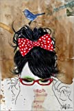 Posterlounge Alu Dibond 120 x 180 cm: Figaro von Loui Jover