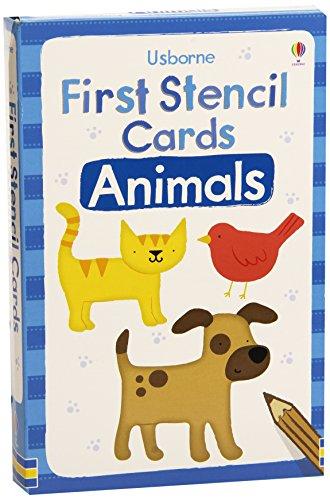 Animals (Usborne First Stencil Cards)