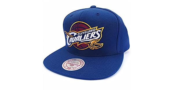 Mitchell /& Ness Cleveland Cavaliers gas022 Navy Snapback Casquette Basecap