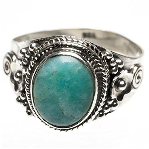 stargems-tm-natur-blau-amazonit-punk-stil-925-sterling-silber-ring-us-grosse-9