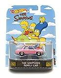 Hot Wheels The Simpsons The Simpsons Family Car Retro Spiel und Sammelfahrzeug