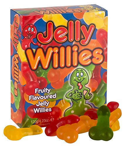 You2Toys Weingummi Willies, 1er Pack (1 x 120 g)