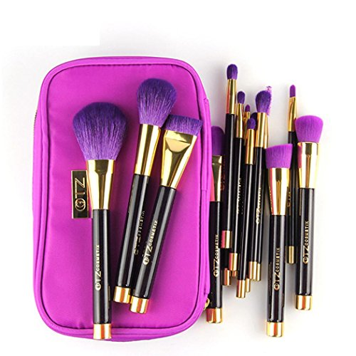 kingko® 15pcs / set de maquillage brosse cosmétiques Foundation Powder Eyeshadow Brosses