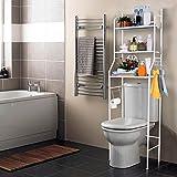 Estanteria sobre Inodoro WC Lavadora Ahorra Espacio