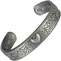 MPS Horseshoe Gotik magnetische Armband, Armreif Stil, mit 6 Starken Magneten, mit Gratis Geschenk geldbörse preisvergleich bei billige-tabletten.eu