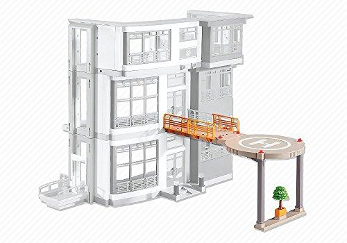 Preisvergleich Produktbild Playmobil 6445 Hubschrauberlandeplatz für Kinderklinik (6657)