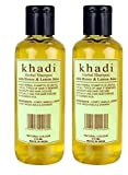 Khadi Khazana Honey and Lemon Juice Shampoo, 420 ml