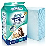 Pack of Puppy Dog/Kitten Toilet Training Pads - Highly Absorbent Mats to protect your Floor, Carpets and Furniture from Pet Pee Wee Mess (Medium 60cm x 60cm) (100 Pack)