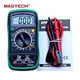 #9: Mastech MAS830L Digital Multimeter - Multi meter with Probes For Measuring Resistance. AC/DC Voltage and Current